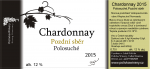Chardonnay 2015, Pozdní sběr (Polosuché), Polivka Winery