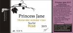 Princess Jane 2015, Zemské víno (Suché), Polivka Winery
