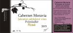 Cabernet Moravia 2015, Jakostní víno (Polosladké), Polivka Winery