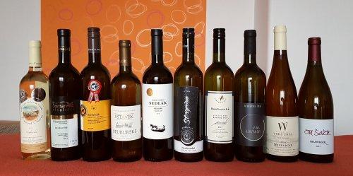 Vína lednové srovnávací degustace neuburgů