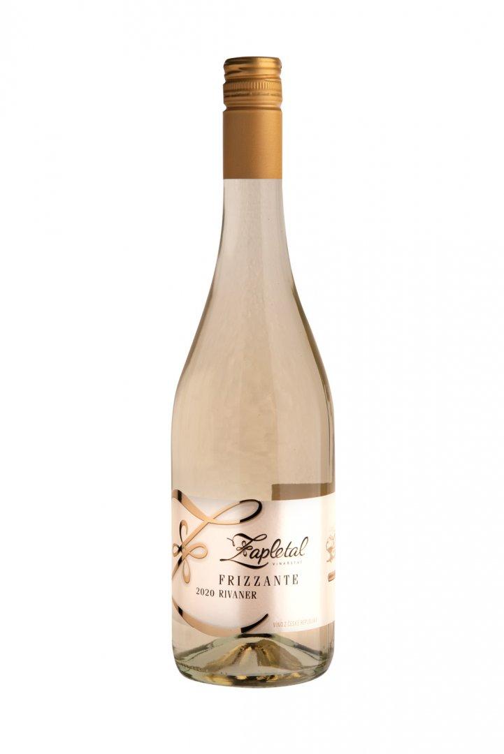 6 × Frizzante Rivaner 2020, zemské víno - perlivé, Vinařství Zapletal, suché