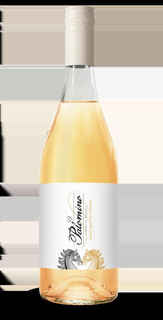 6 × Muškát moravský 2018, zemské víno - perlivé, Nosreti, polosladké