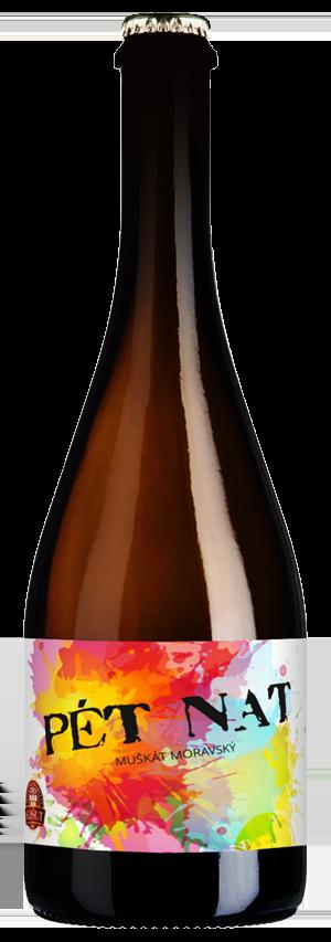 6 × Pét-Nat Muškát moravský 2020, zemské víno - perlivé, Rodinné vinařství Košut, suché