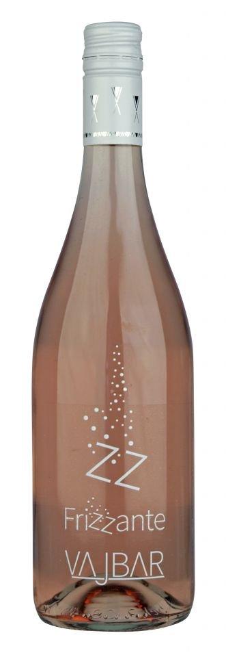 6 × Cabernet Moravia rosé frizzante 2020, jakostní perlivé víno, Vinařství Vajbar, polosladké