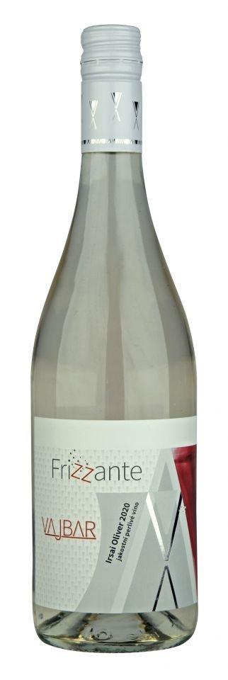 6 × Irsai Oliver frizzante 2020, jakostní perlivé víno, Vinařství Vajbar, polosladké