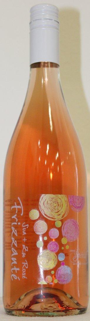 6 × Frizzante Cuvée Rosé ZW a FR 2020, zemské víno - perlivé, Rodinné vinařství Spěvák, polosladké