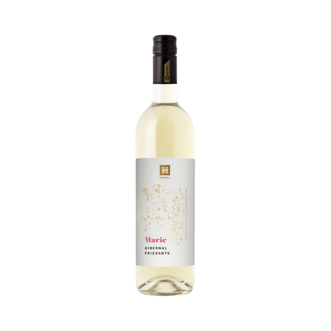 6 × Frizzante- Hibernal 2020, zemské víno - perlivé, Vinařství Hempl, polosuché