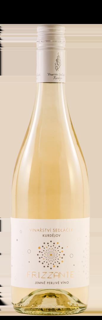 6 × Frizzante 2019, jakostní perlivé víno, Vinařství Sedláček Kurdějov, polosuché