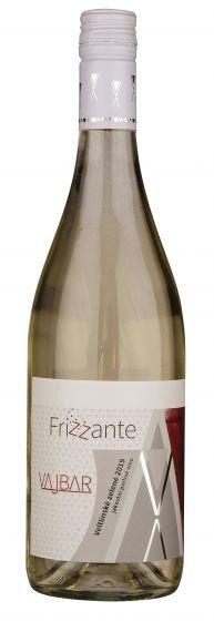 6 × Veltlínské zelené Frizzante 2019, jakostní perlivé víno, Vinařství Vajbar, polosuché
