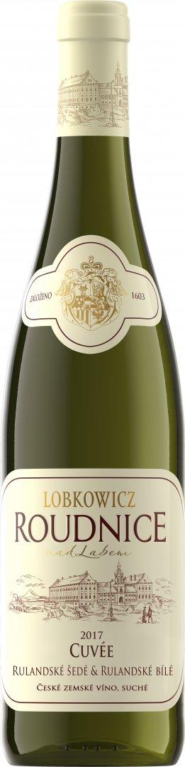 Lobkowiczké zámecké vinařství Roudnice nad Labem - Cuvée Rulandské šedé & Rulandské bílé - Zemské ví