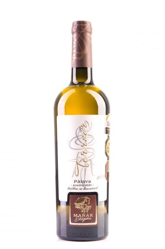 Vinařství Štěpán Maňák - Pálava (Terroir, krášleno na kvasnicích) - Pozdní sběr 2017 - 0,75l