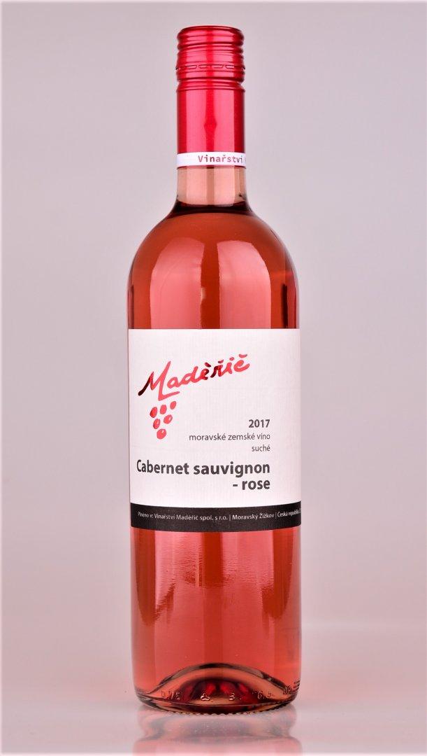 Vinařství Maděřič - Cabernet Sauvignon rosé - Zemské víno 2017 - 0,75l