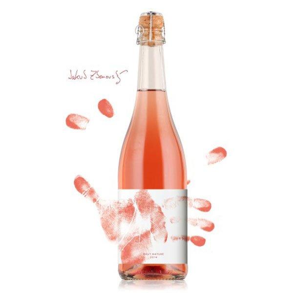 Syfany - Nature Brut   Krvavé rosé - Jakostní šumivé víno - sekt 2014 - 0,75l (balení 6 lahví)
