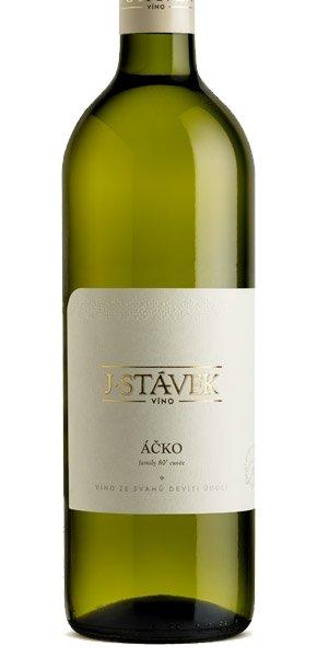 Víno J.Stávek - Áčko - Zemské víno 2016 - 0,75l (balení 6 lahví)