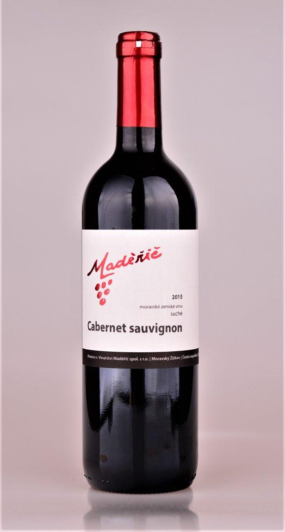 Vinařství Maděřič - Cabernet Sauvignon - Zemské víno 2015 - 0,75l