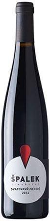 Vinařství Špalek - Svatovavřinecké - Jakostní víno 2016 - 0,75l (balení 6 lahví)