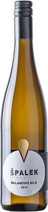 Vinařství Špalek - Rulandské bílé - Zemské víno 2016 - 0,75l (balení 6 lahví)