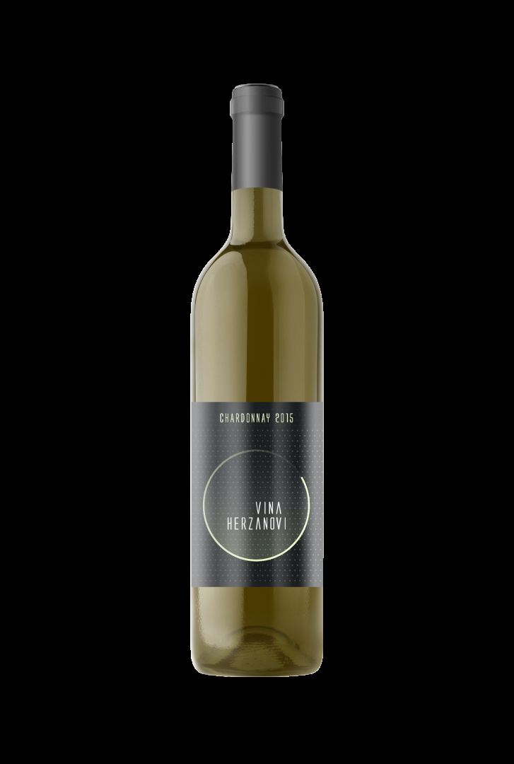 Vinařství Herzánovi - Chardonnay - Pozdní sběr 2015 - 0,75l (balení 6 lahví)