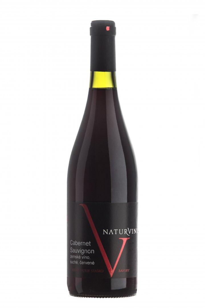Naturvini - wines family STAŠKO - Cabernet Sauvignon - Zemské víno 2015 - 0,75l (balení 6 lahví)
