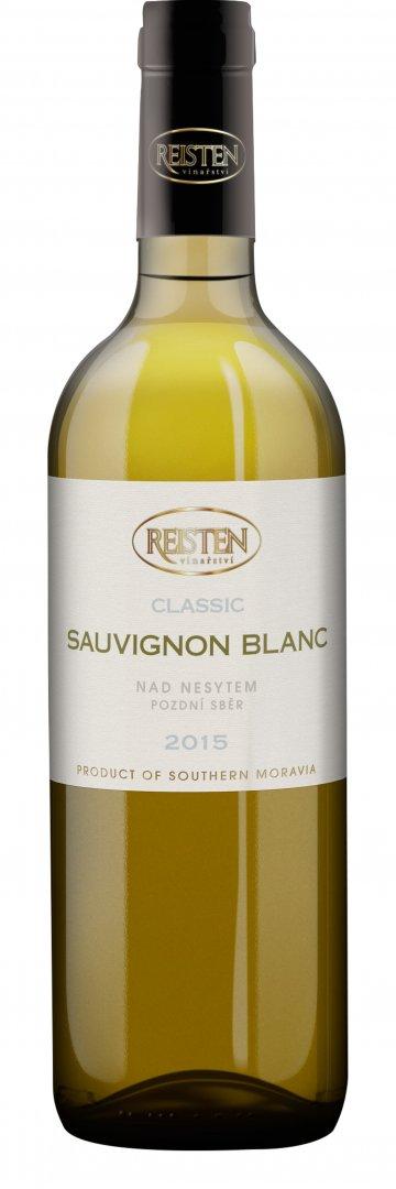 Reisten - Sauvignon blanc Classic - Pozdní sběr 2015 - 0,75l (balení 6 lahví)