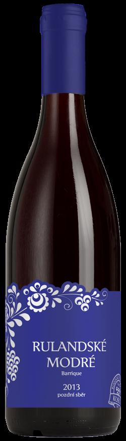 Vinařství Košut - Rulandské modré barrique - Pozdní sběr 2013 - 0,75l (balení 6 lahví)