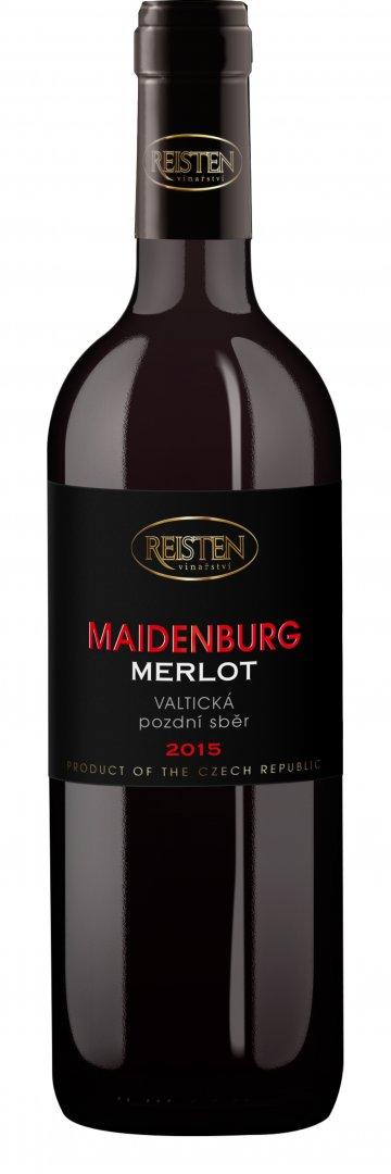 Reisten - Merlot Maidenburg - Pozdní sběr 2015 - 0,75l