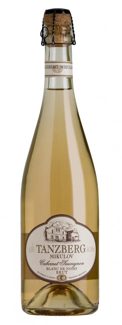 Tanzberg Mikulov - Sekt Cabernet Sauvignon rosé - Jakostní šumivé víno - sekt 2013 - 0,75l (balení 6 lahví)