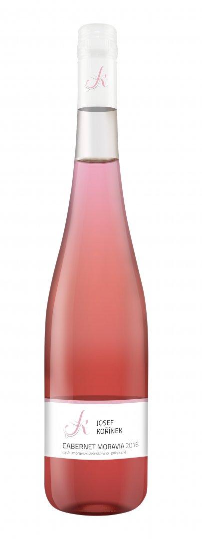 Josef Kořínek - Cabernet Moravia - Zemské víno 2016 - 0,75l (balení 6 lahví)
