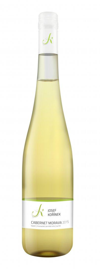 Josef Kořínek - Cabernet Moravia - Zemské víno 2015 - 0,75l (balení 6 lahví)