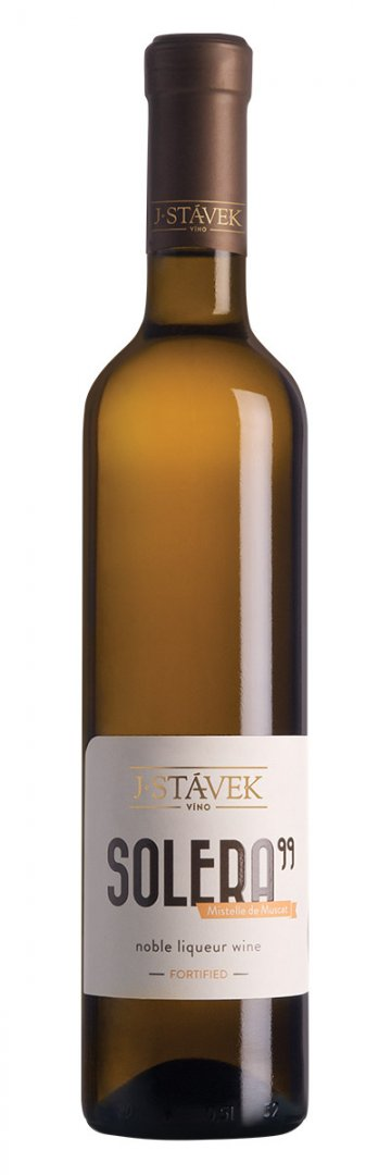 Víno J.Stávek - Solera '99 – Mistelle de Muscat - Jakostní fortifikované víno - 0,75l (balení 6 lahví)