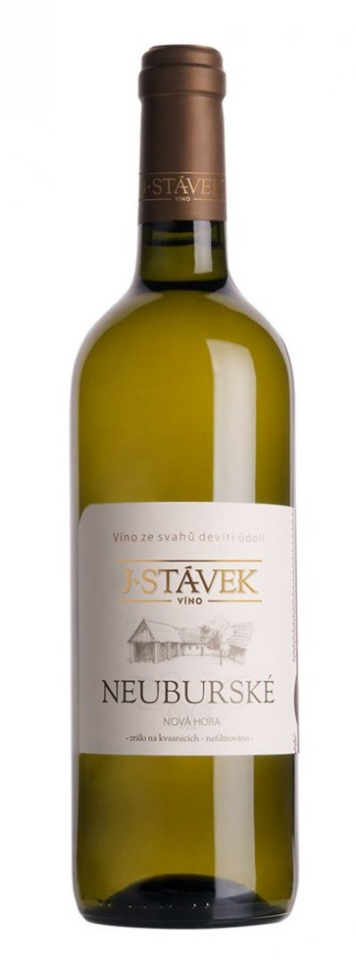 Víno J.Stávek - Neuburské - Zemské víno 2014 - 0,75l (balení 6 lahví)