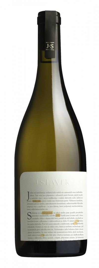 Víno J.Stávek - Sauvignon BEZ - Zemské víno 2015 - 0,75l (balení 6 lahví)