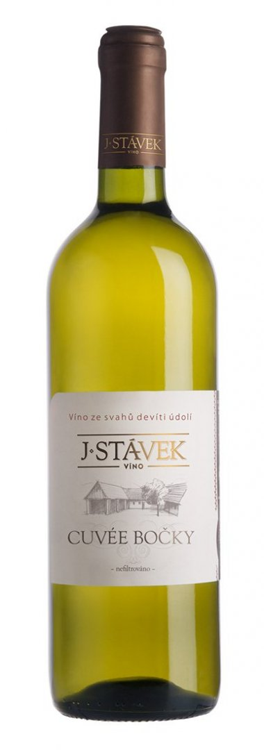 Víno J.Stávek - Cuvée Bočky - Zemské víno 2015 - 0,75l (balení 6 lahví)