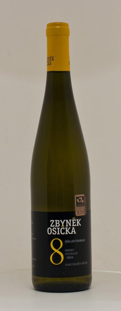 Vinařství Zbyněk Osička - Sauvignon - Pozdní sběr 2016 - 0,75l (balení 6 lahví)
