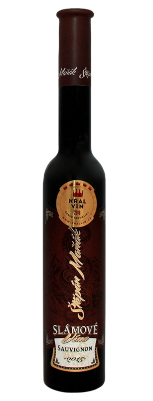 Vinařství Štěpán Maňák - Sauvignon - Slámové víno 2015 - 0,2l (balení 6 lahví)