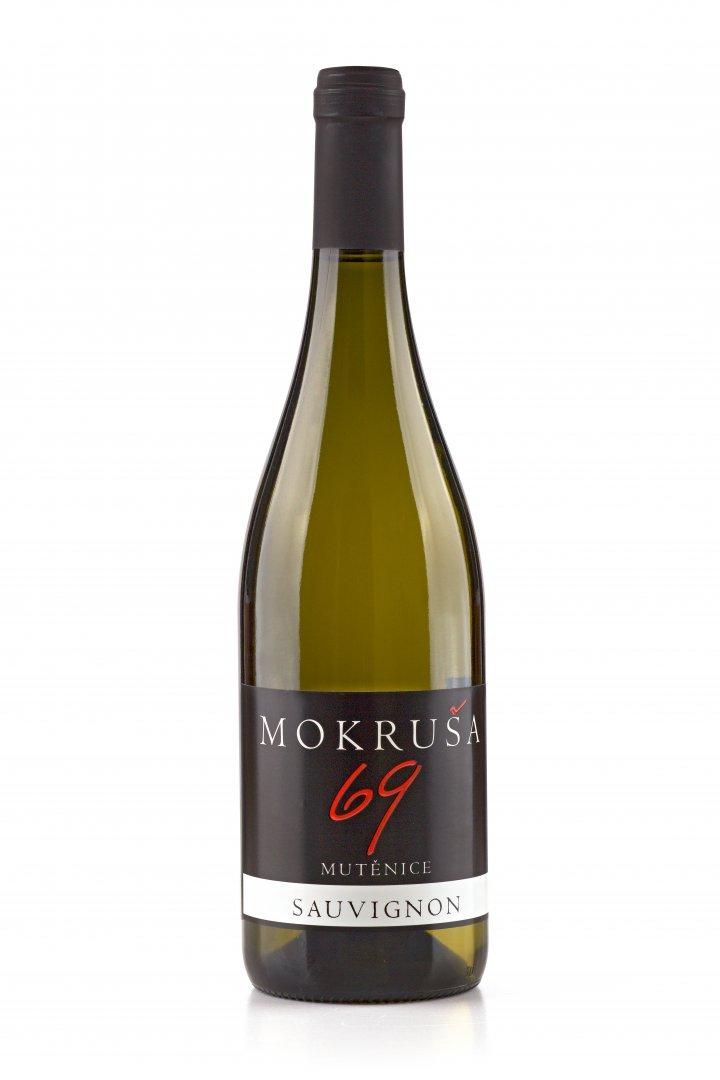 Vinařství Mokruša - Sauvignon - Pozdní sběr 2016 - 0,75l (balení 6 lahví)
