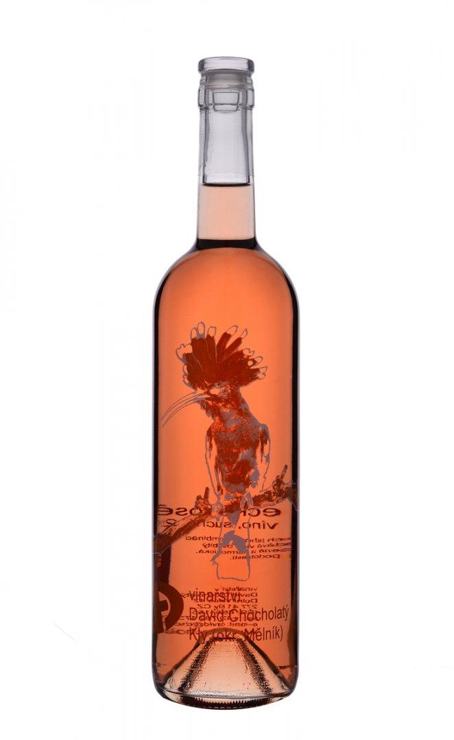 Vinařství David Chocholatý - Svatovavřinecké rosé - Zemské víno 2016 - 0,75l (balení 6 lahví)