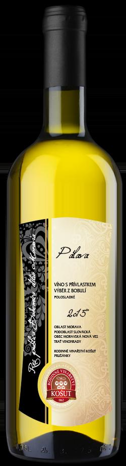 Vinařství Košut - Pálava - Výběr z bobulí 2015 - 0,75l (balení 6 lahví)