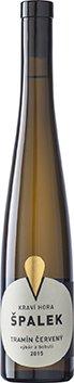 Vinařství Špalek - KRAVÍ HORA Tramín BIO - Výběr z bobulí 2015 - 0,375l (balení 6 lahví)
