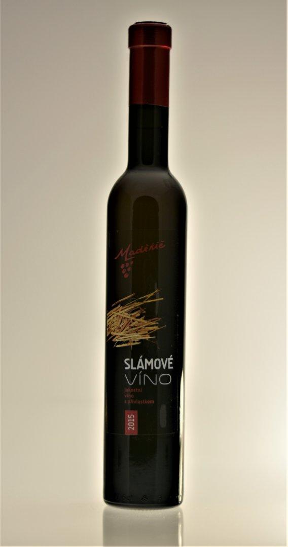 Vinařství Maděřič - Chardonnay - Slámové víno 2015 - 0,35l (balení 6 lahví)
