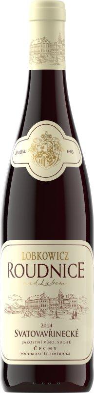Lobkowiczké zámecké vinařství Roudnice nad Labem - Svatovavřinecké - Jakostní víno 2014 - 0,75l (balení 6 lahví)