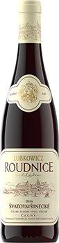 Lobkowiczké zámecké vinařství Roudnice nad Labem - Svatovavřinecké - Zemské víno 2016 - 0,75l (balení 6 lahví)