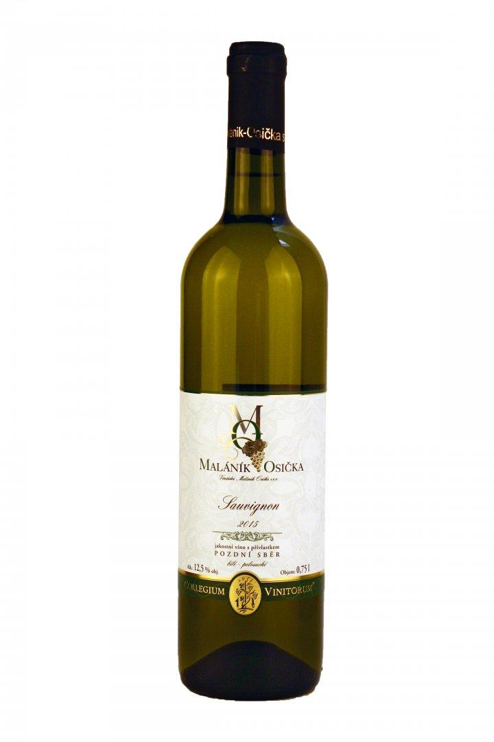 Vinařství Maláník-Osička - Sauvignon - Pozdní sběr 2015 - 0,75l