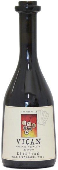 Rodinné vinařství Vican - Kienberg Pineaux - Jakostní fortifikované víno 2015 - 0,5l (balení 6 lahví)