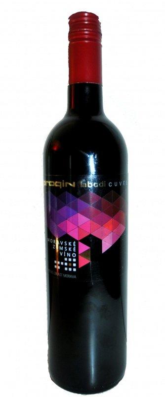 PROQIN - PROQIN ABCD lahev - Zemské víno - 0,75l (balení 6 lahví)