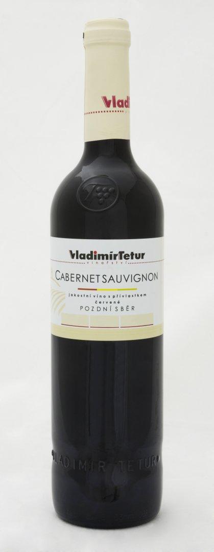Vinařství Vladimír Tetur - Cabernet Sauvignon - Pozdní sběr 2013 - 0,75l