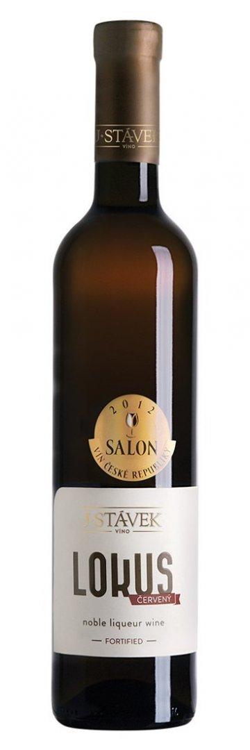 Víno J.Stávek - Lokus červený - Jakostní fortifikované víno 2013 - 0,5l (balení 6 lahví)