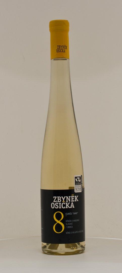 Vinařství Zbyněk Osička - Rulandské šedé - Výběr z bobulí 2015 - 0,5l (balení 6 lahví)
