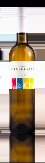 Víno Škrobák - Cuvée Přátelství - Zemské víno 2015 - 0,75l