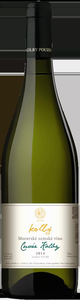 Kolby - Cuveé KOLBY - Zemské víno 2014 - 0,75l